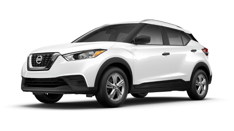 White 2019 Nissan Kicks S