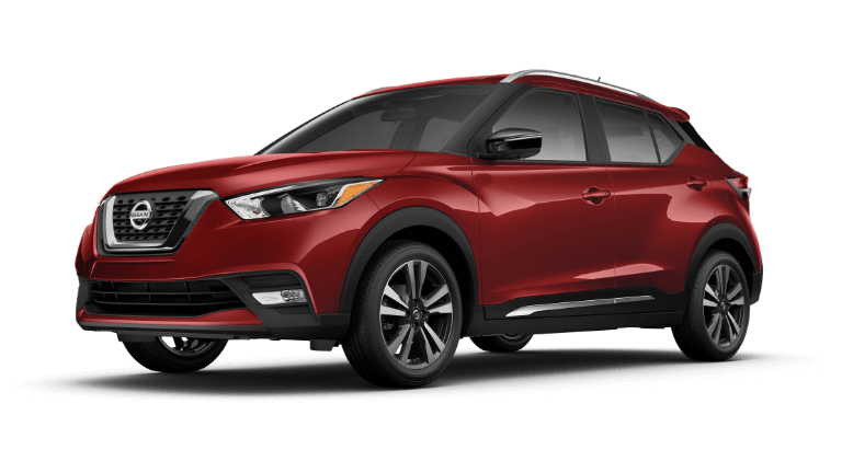 2019 Nissan Kicks Jellybean SR Red