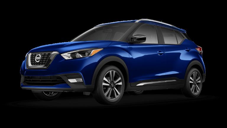 Blue 2019 Nissan Kicks SR