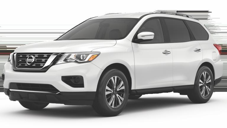 2019 Nissan Pathfinder Jellybean White
