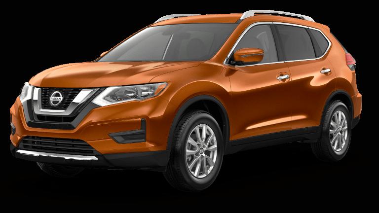 2019 Nissan Rogue Jellybean SV Orange