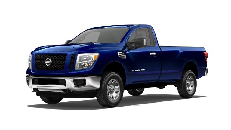 2019 Nissan Titan XD Jellybean Blue