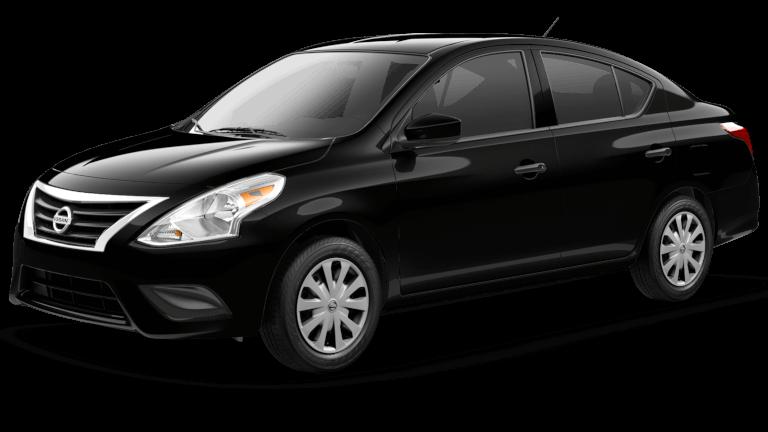 2019 Nissan Versa S Jellybean Black