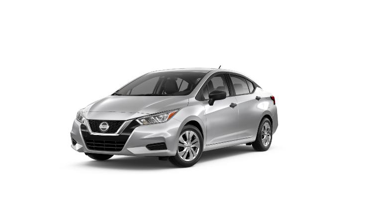 2020 Nissan Versa S Silver