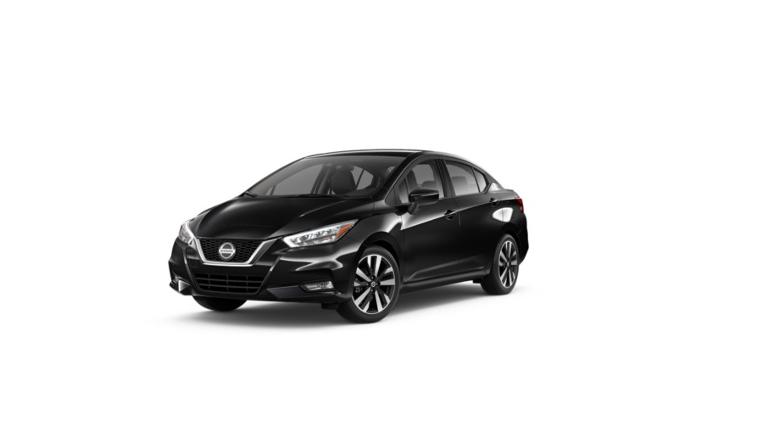 2020 Nissan Versa SR Black