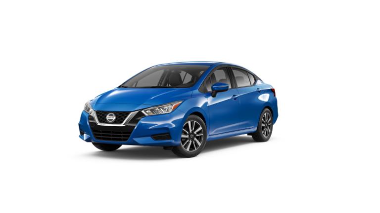 2020 Nissan Versa SV Blue