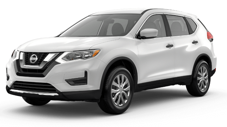2020 Nissan Rogue S White