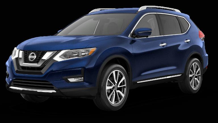 2020 Nissan Rogue SL Blue