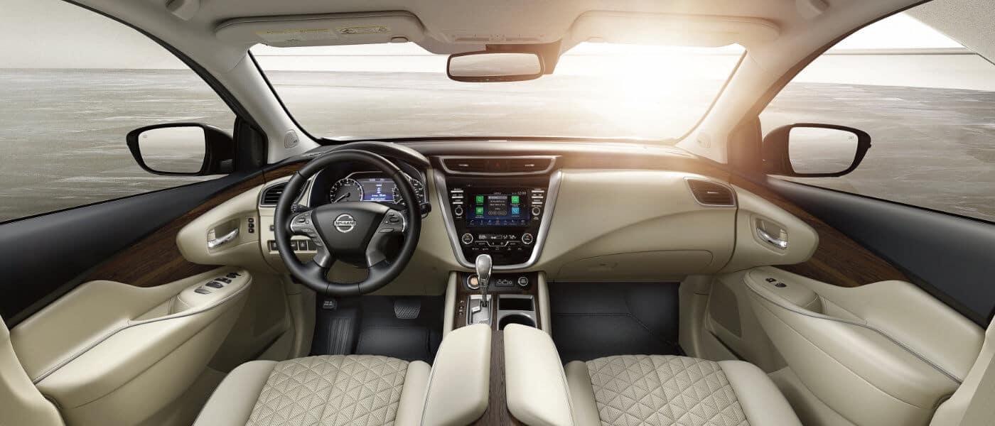 New Nissan Murano interior