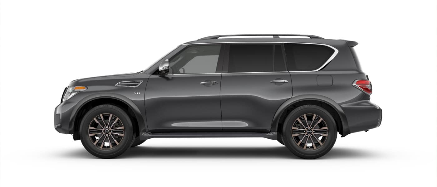 2020 Nissan Armada sideview