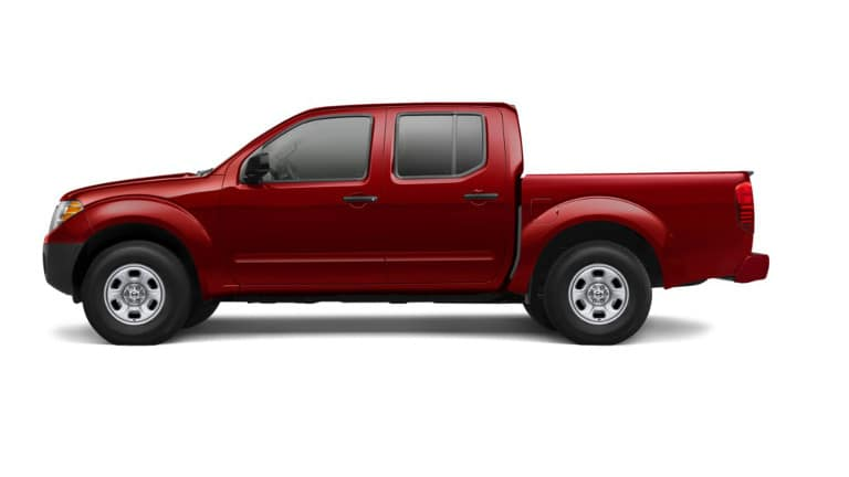 Red 2019 Nissan Frontier S