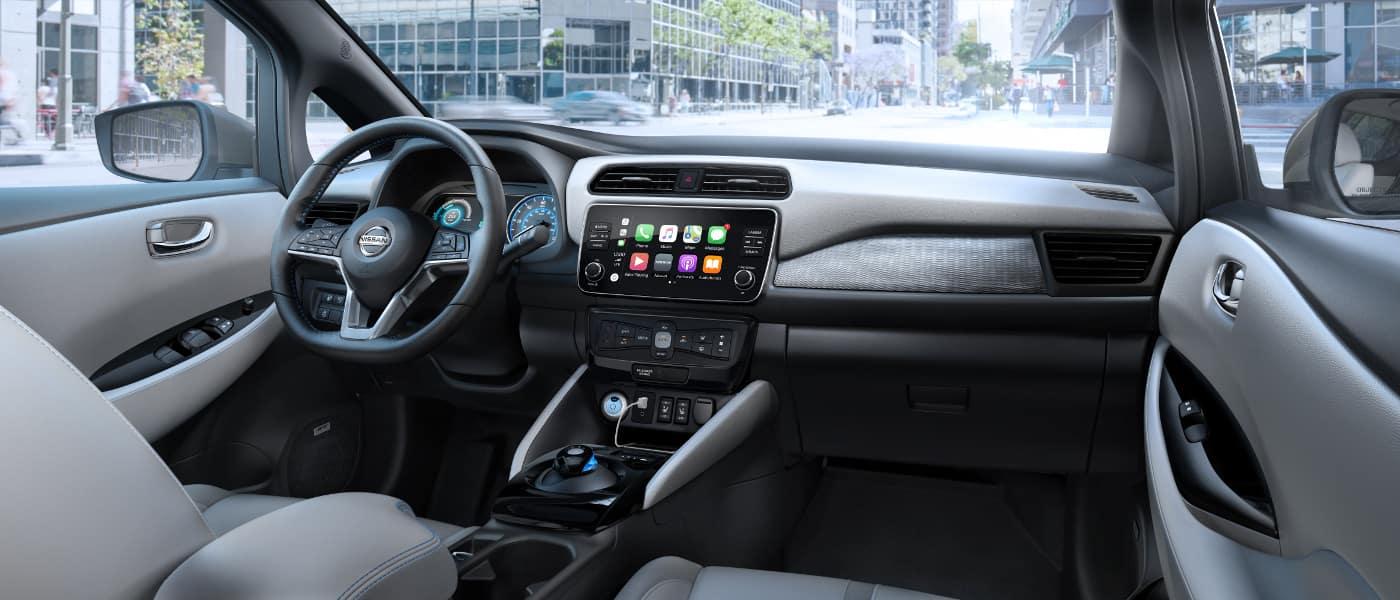 2019 Nissan Leaf interior