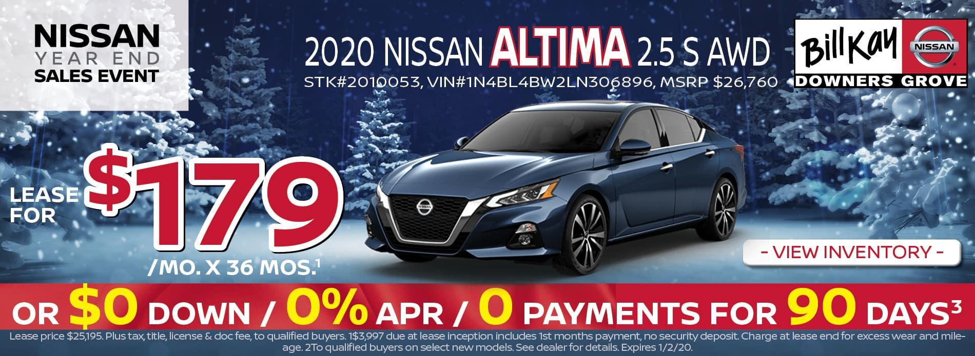 2020 Nissan Altima 2.5
