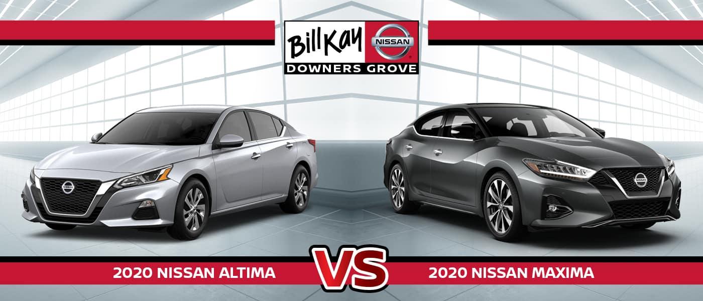 2020 Nissan Altima vs. Maxima