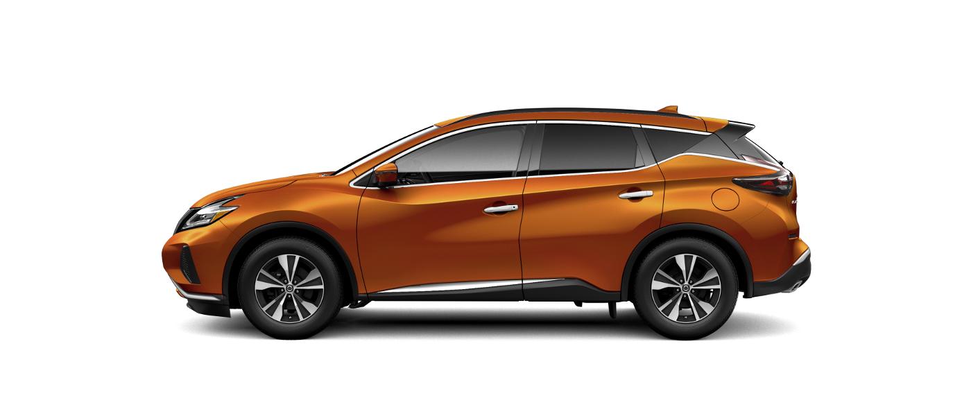 Orange 2020 Nissan Murano