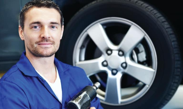 Car tire service