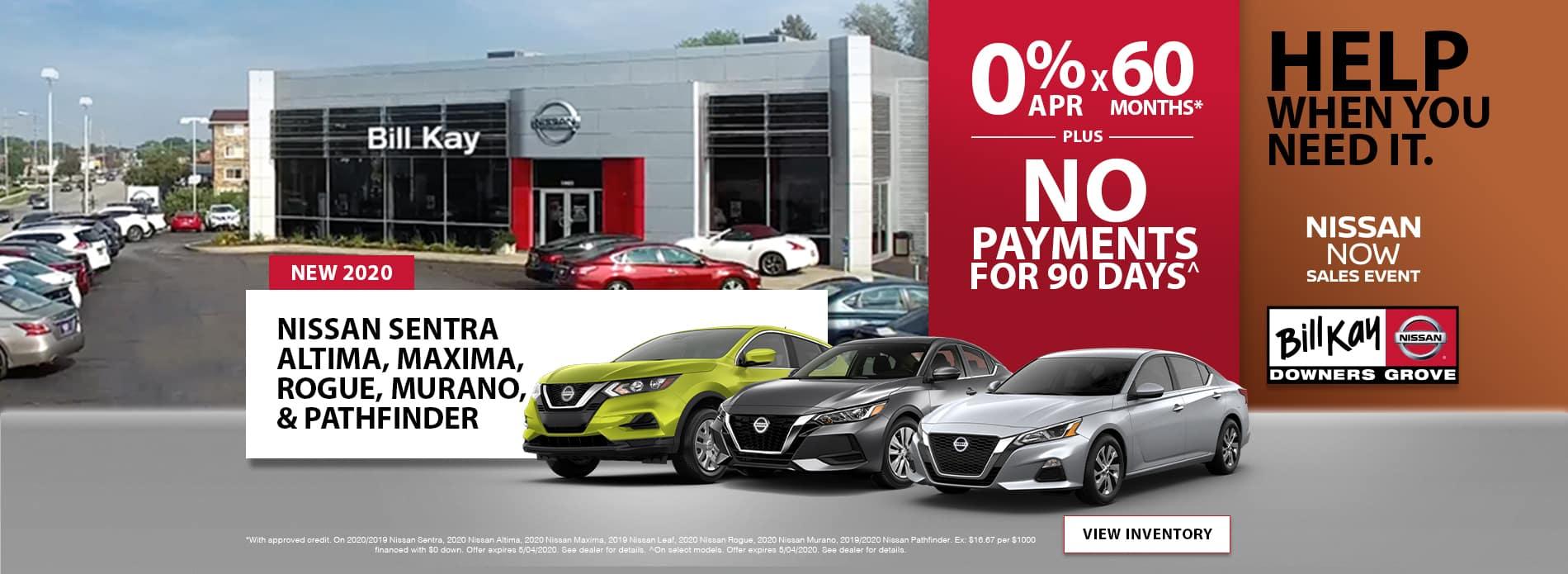 Bill Kay Nissan April Offers