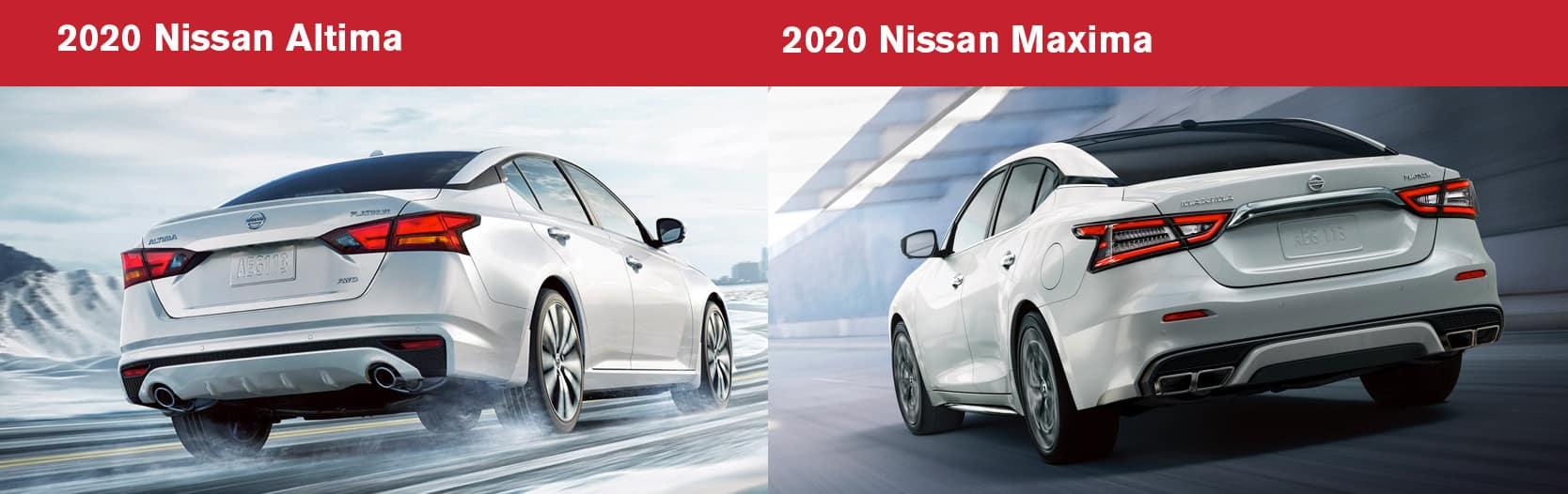 2020 Maxima vs 2020 Altima Fuel Economy