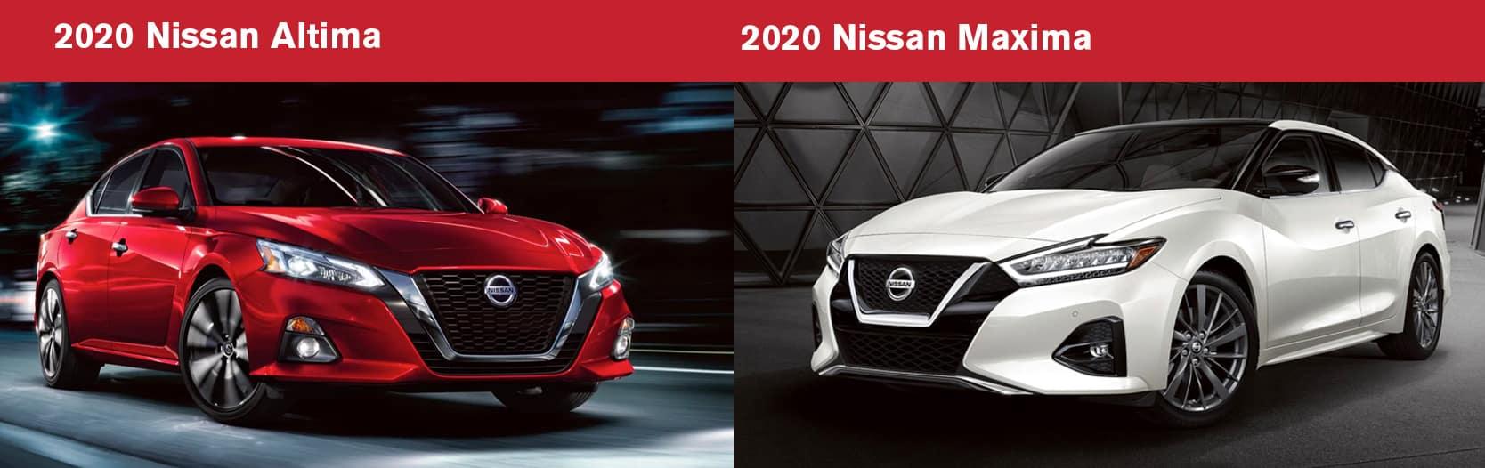 2020 Nissan Altima vs 2020 Nissan Maxima Chicago IL