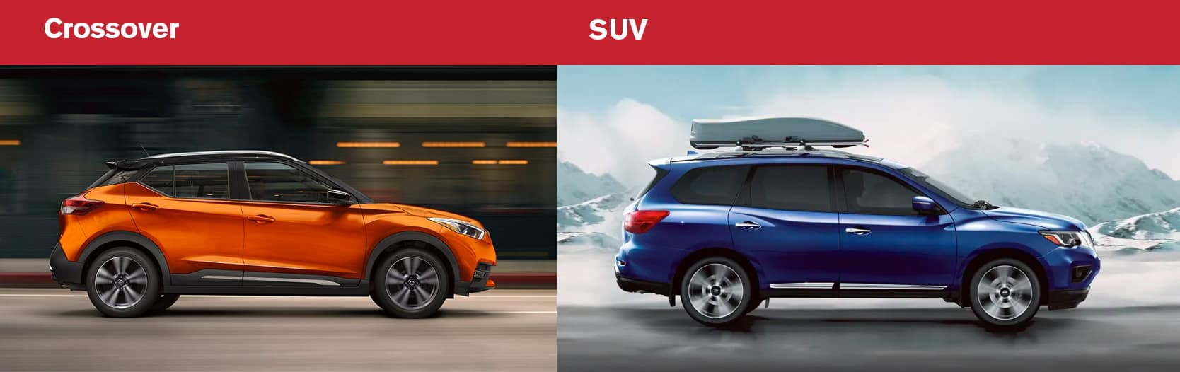 What is the Difference Between a Crossover and SUV? Downers Grove