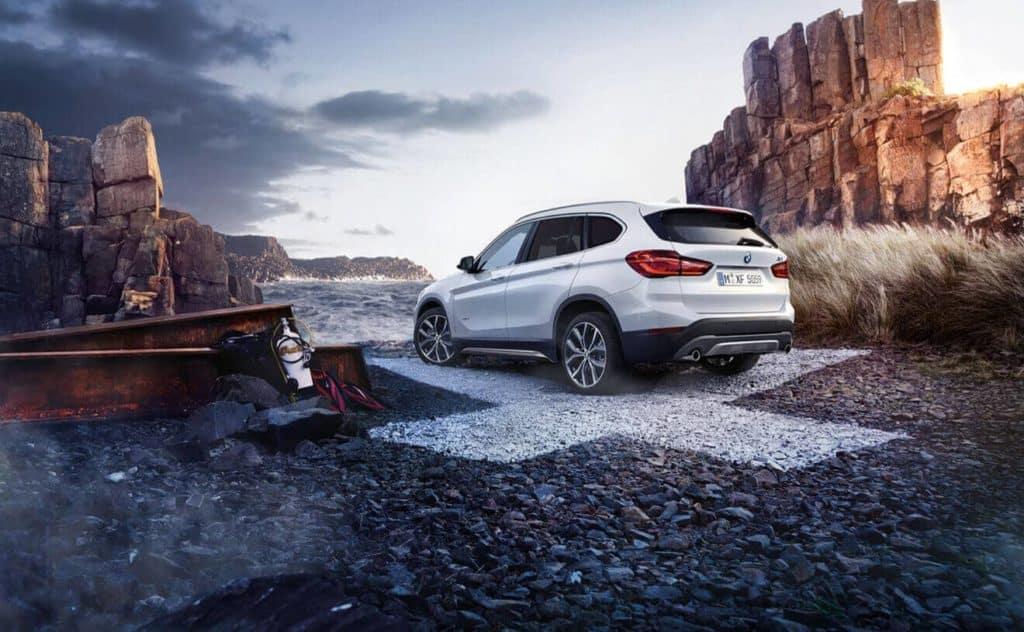 2018 BMW X1 in the desert