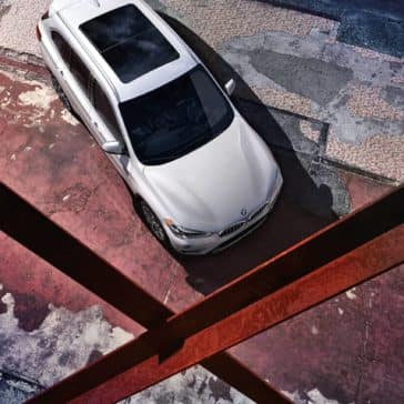2018 BMW X1 aerial view