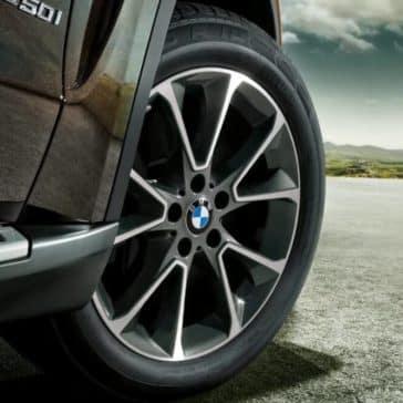 2018 BMW X5 wheel detail