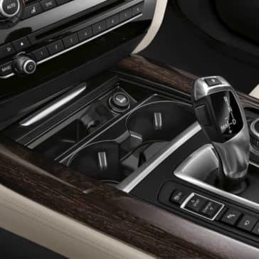2018 BMW X5 controls