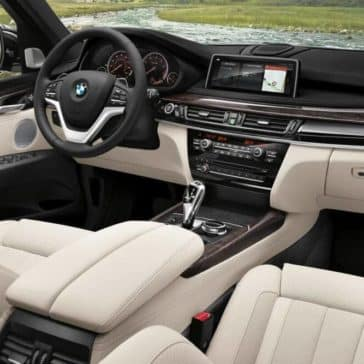 2018 BMW X5 dashboard