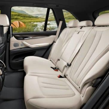 2018 BMW X5 seating