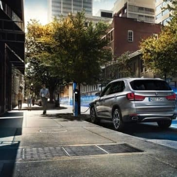 2018 BMW X5 in the city