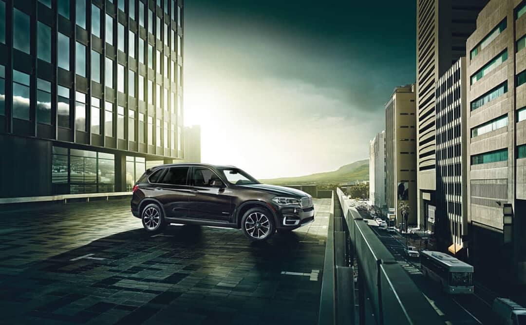 2018 BMW X5 profile view