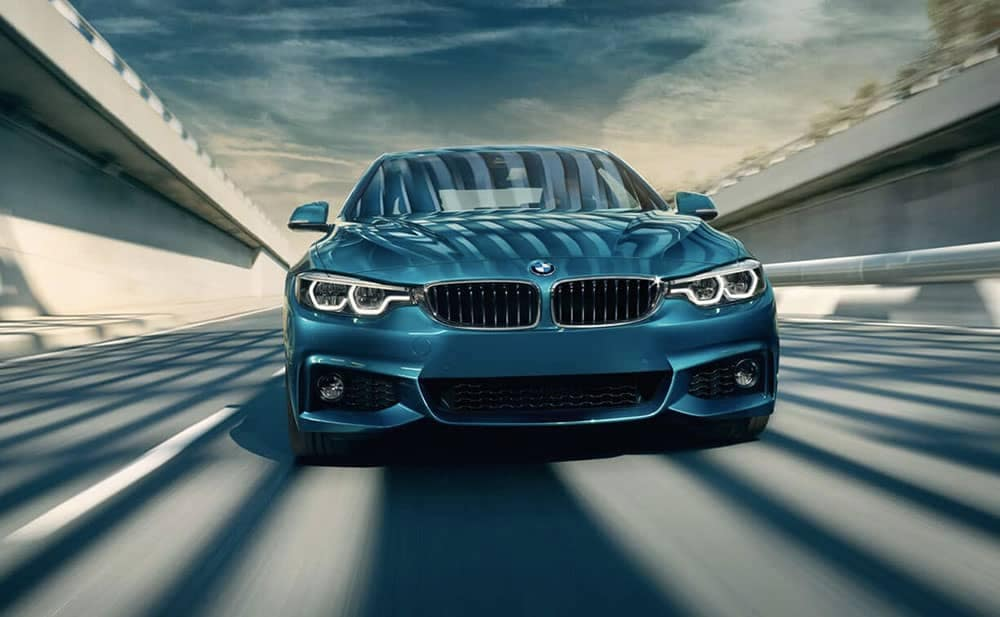 2019 BMW 4-Series performance driving
