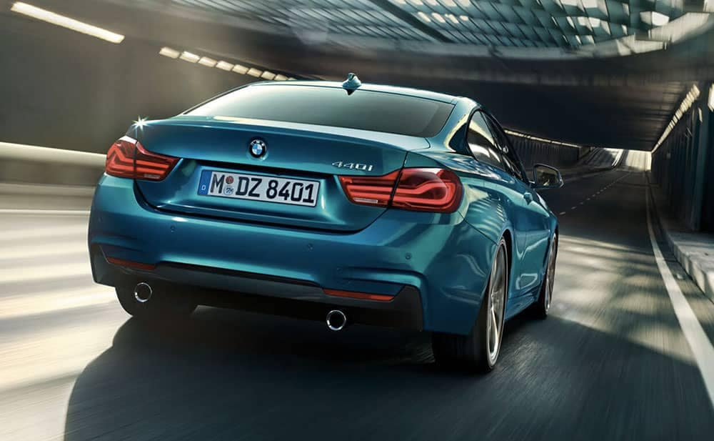 2019 BMW 4-Series rear view