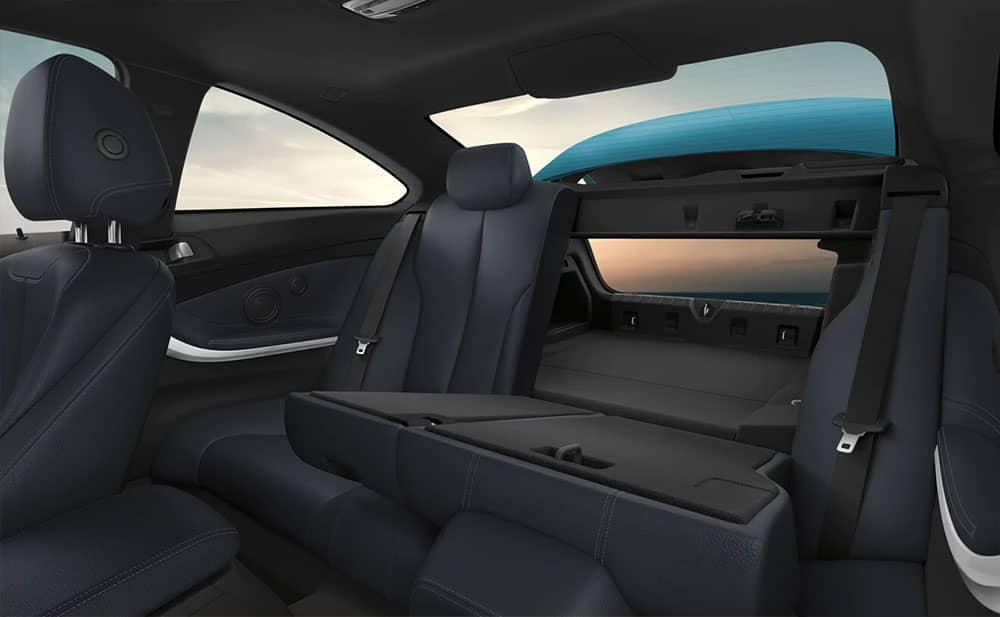 2019 BMW 4-Series interior