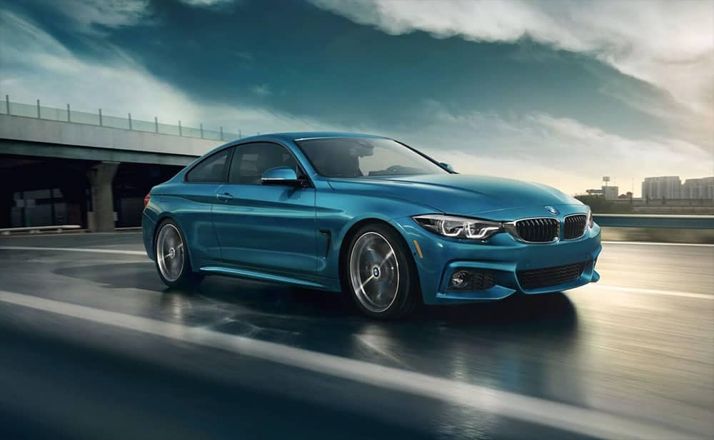 2019 BMW 4-Series highway driving