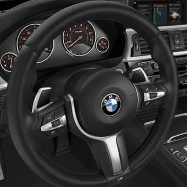 2019 BMW 4-Series steering wheel
