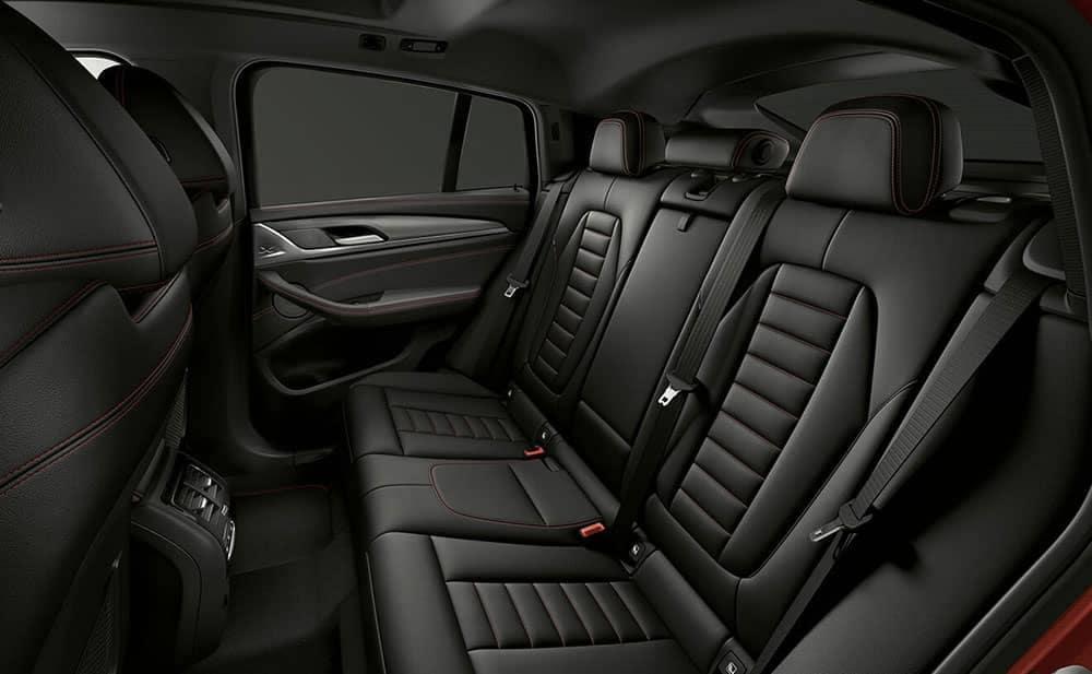2019 BMW X4 interior seating