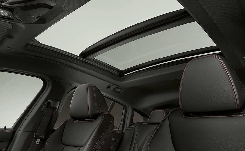 2019 BMW X4 sun roof