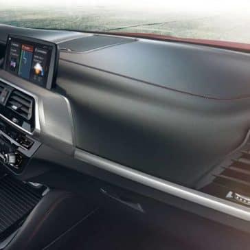 2019 BMW X4 dashboard