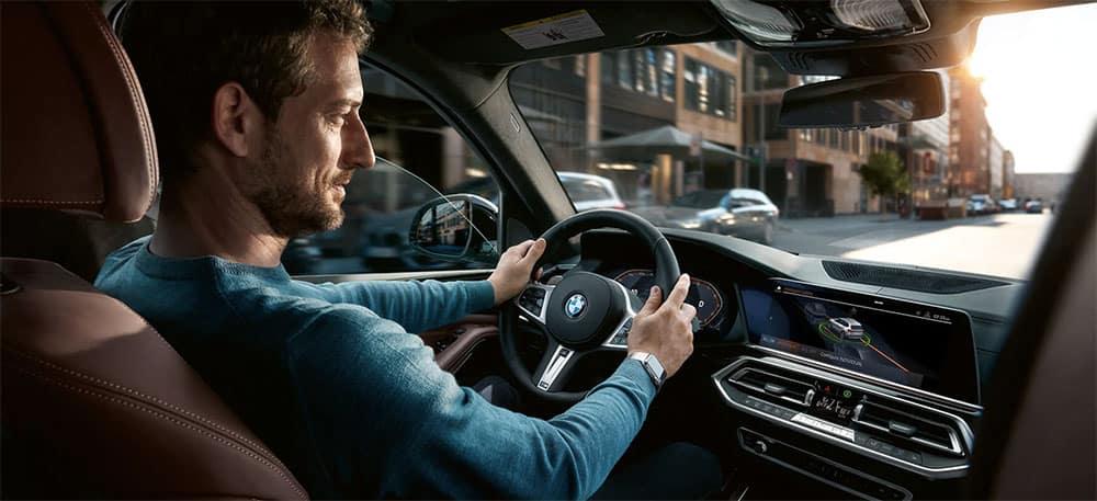 2019 BMW X5 dashboard