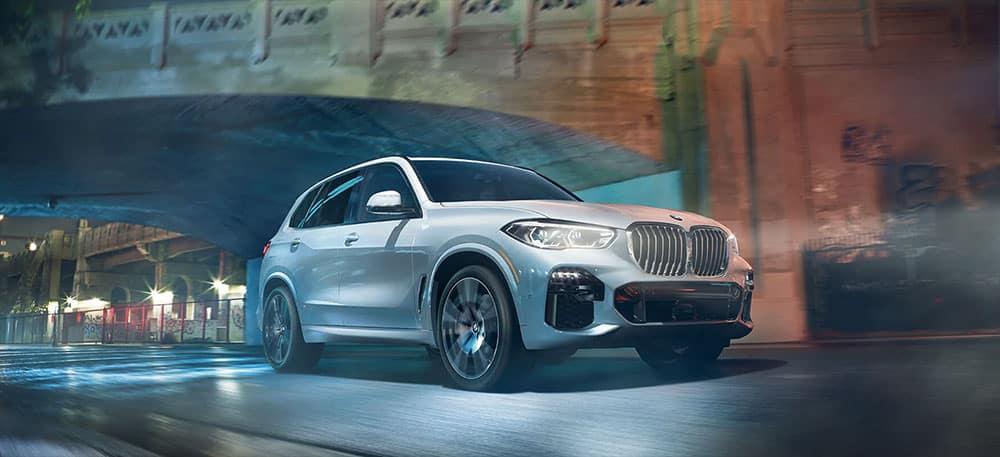 2019 BMW X5 driving