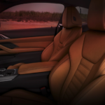 2021 bmw 4 series brown leather interior