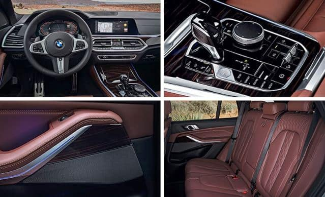 2019 BMW X5 Interior Collage