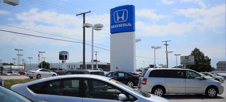 Honda dealer near merrillville in bosak honda highland for Nearest honda dealership