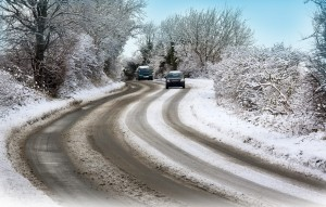 Driving in the winter