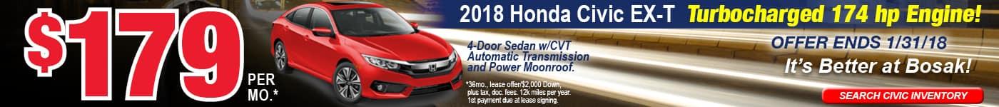 Civic January Offer Bosak Honda Highland