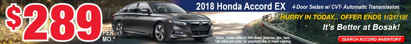 Accord January Offer Bosak Honda Highland