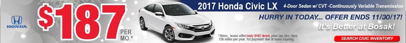 Honda CR-V October Bosak Honda