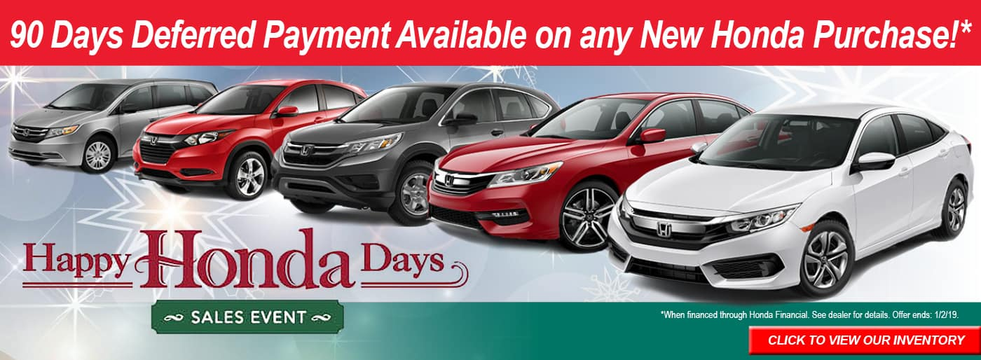 Manager lease deals specials highland in near hammond for Honda financial account management